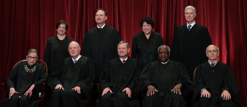Current members of the U.S. Supreme Court