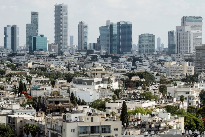 Tel Aviv, Israel skyline