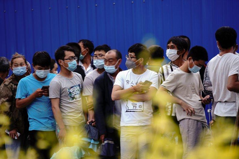 Beijing coronavirus testing June 2020