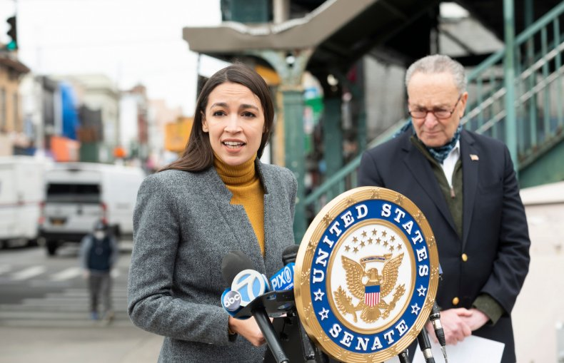 AOC, Wall Street, primary, challenge, New York