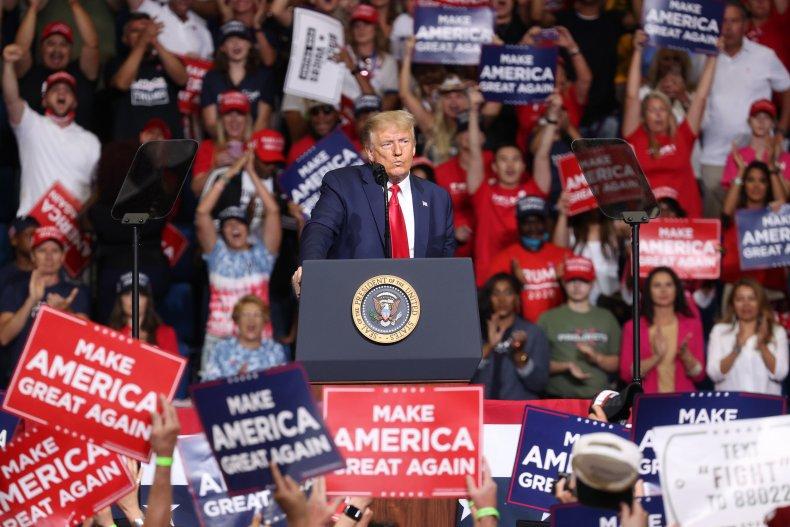 Trump Tulsa rally