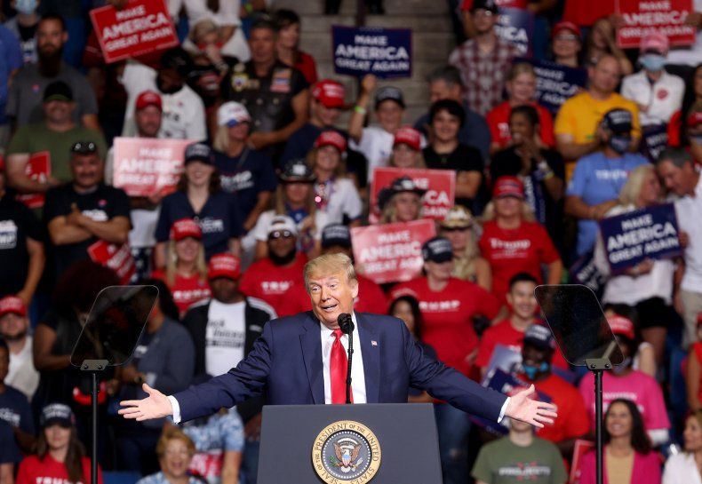 Trump rally Tulsa, Oklahoma June 2020