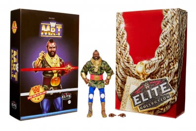 Mattel WWE Elite Mr. T Comic-Con@Home Packaging
