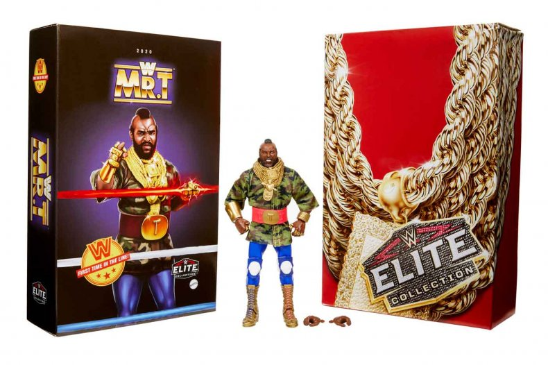 Mattel WWE Elite Mr. T Comic-Con@Home Packaging