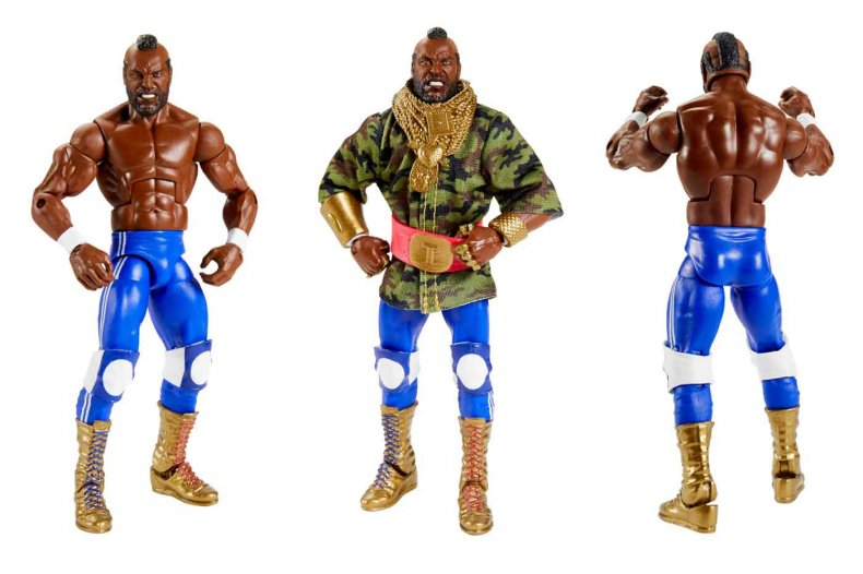 Mattel WWE Elite Mr. T Comic-Con@Home Exclusive