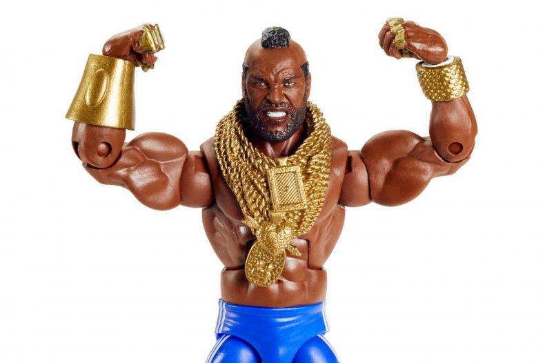 Mattel WWE Elite Mr. T Comic-Con@Home Flex