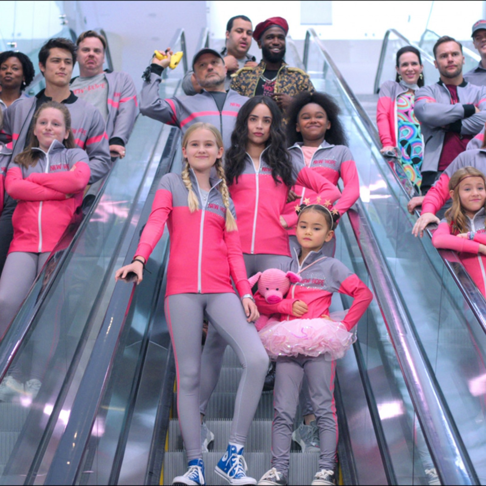 Feel The Beat Cast Sofia Carson And The Rest Of The Netflix Show Stars