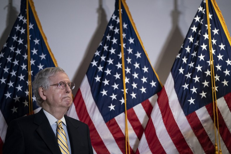 mitch mcconnell polling KY primary booker mcgrath