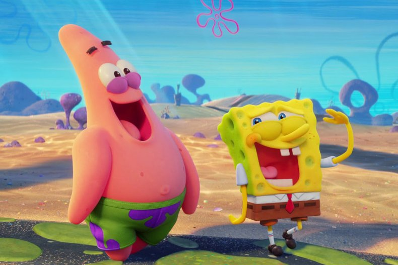 spongebob movie watch online