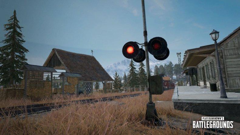 pubg trains