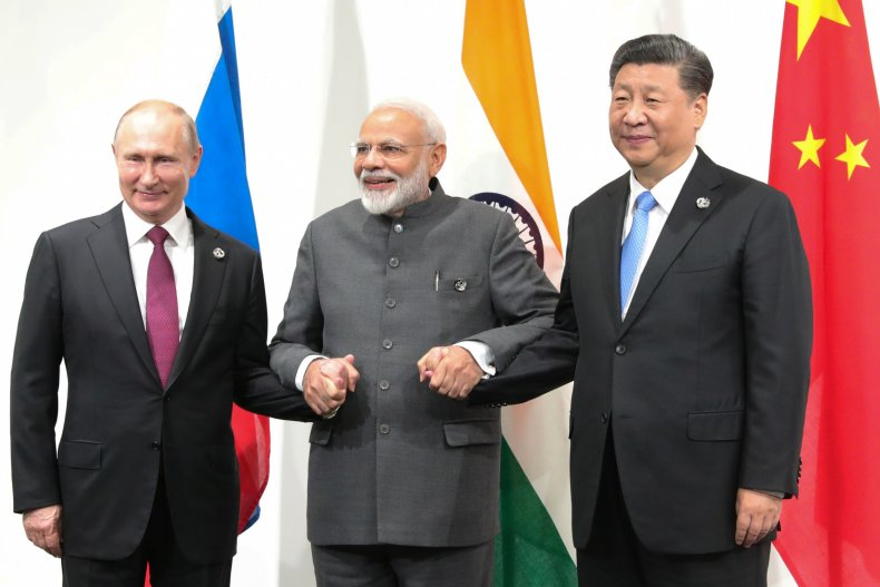 russia, putin, india, modi, china, xi