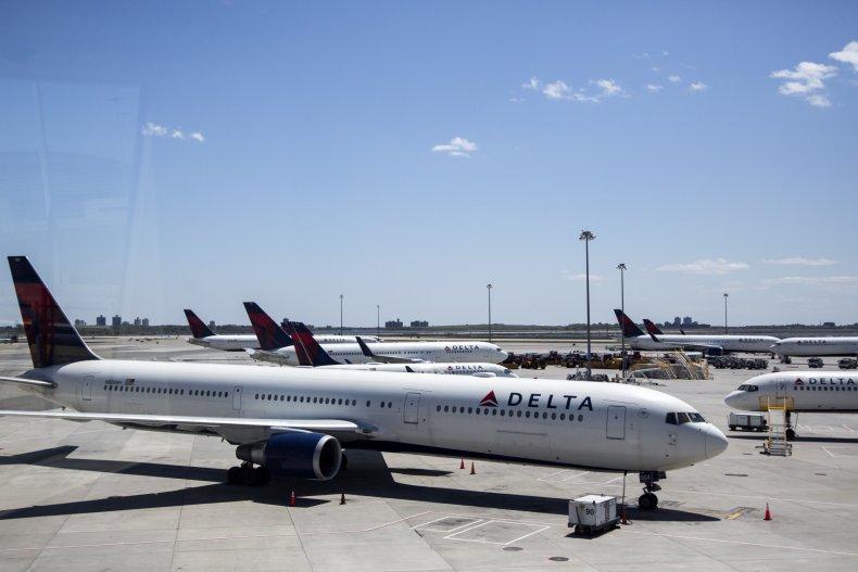 Delta airline JFK New York May 2020