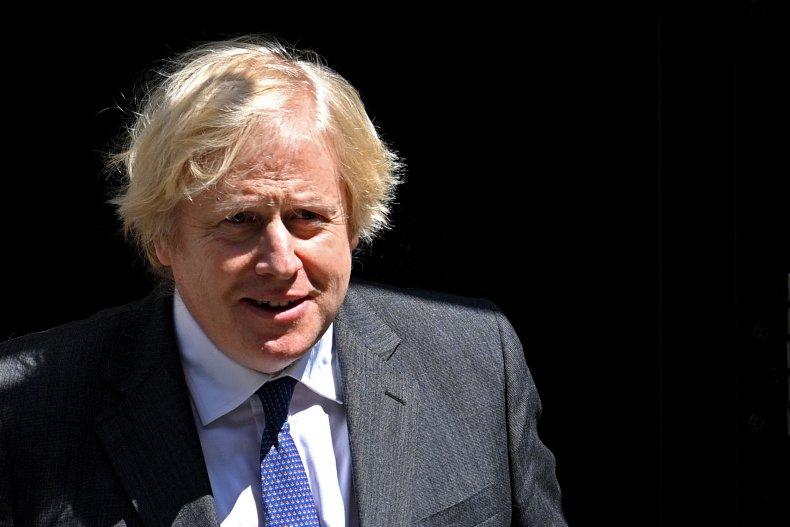 Boris Johnson track and trace