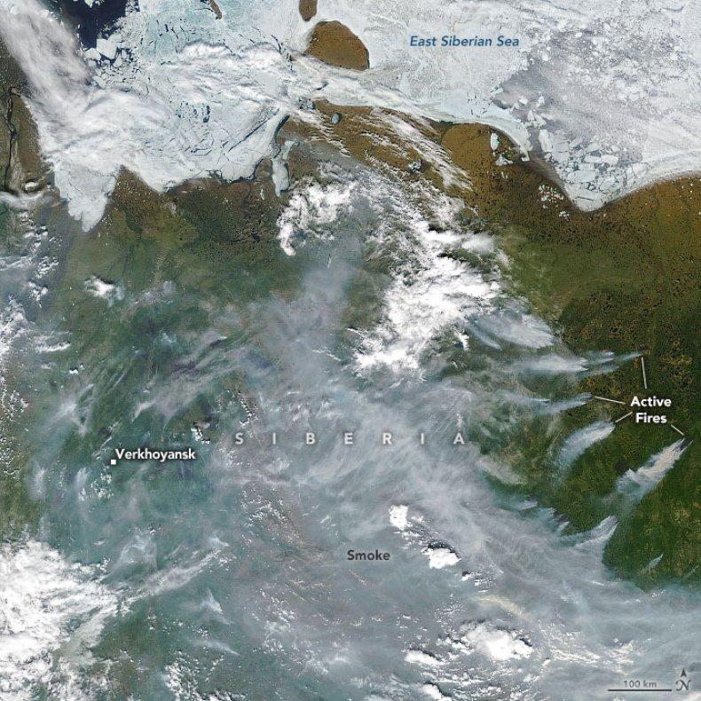 wildfires, Siberia