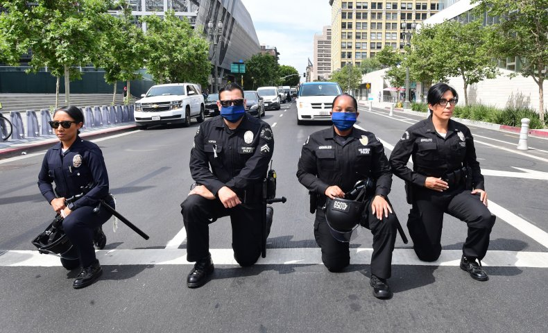 Los Angeles Police Department COVID-19