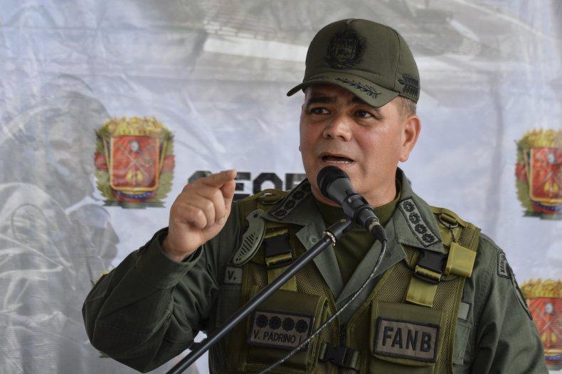 Vladimir Padrino Lopez, Venezuela, U.S. Navy, Maduro
