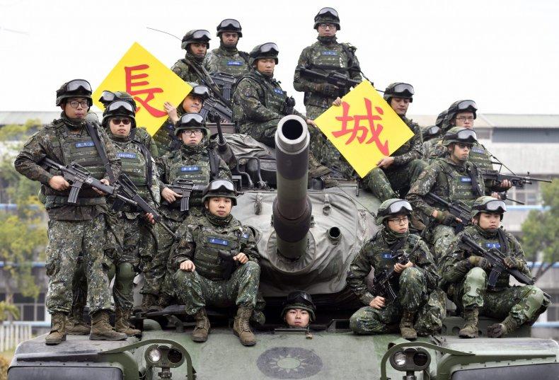 Taiwan, China, army, US, drill, invasion