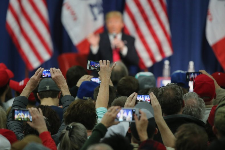 Trump phones