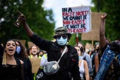 London Black Lives Matter protest