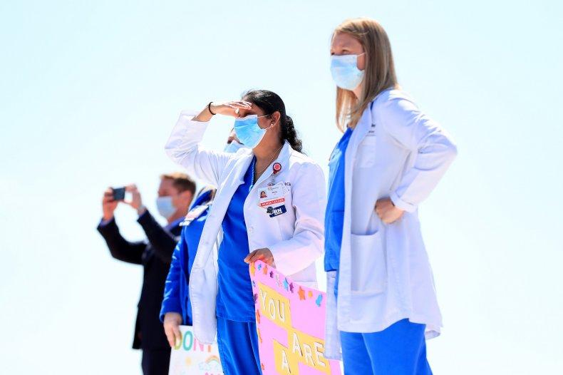 Dallas, Texas, hospital staff May 2020