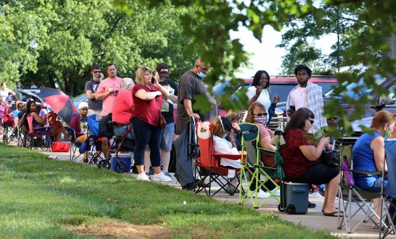 unemployment line Kentucky
