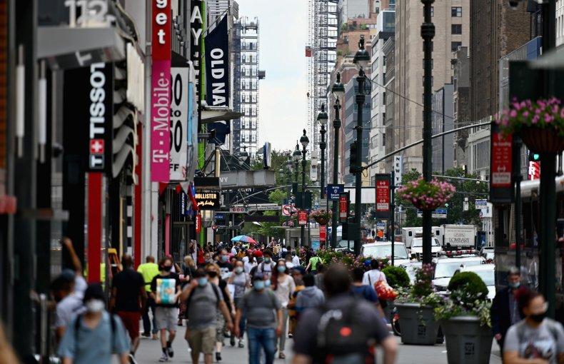 Coronavirus New York Pandemic Economy Recovery