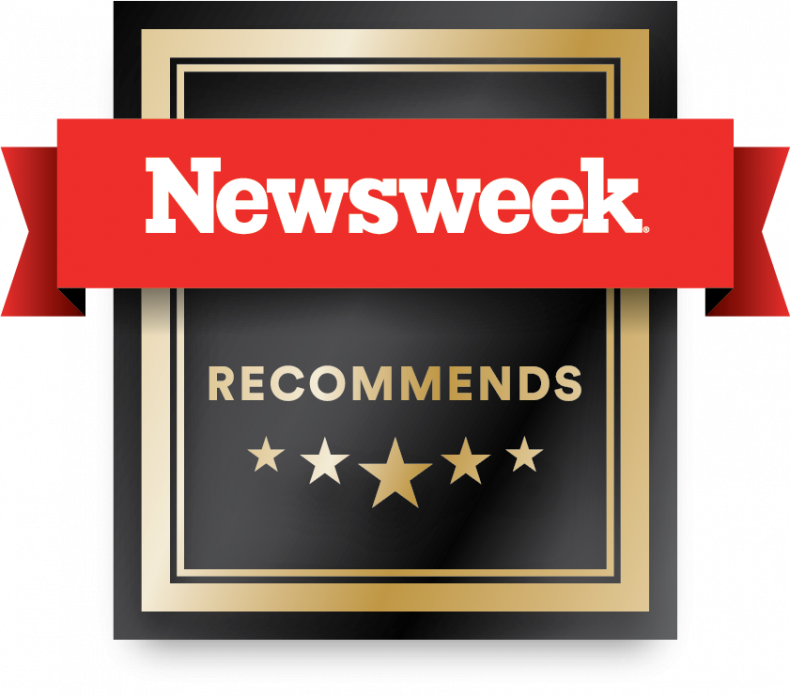Newswek Recommends Badge