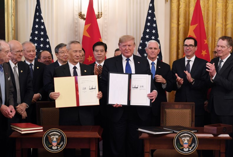 china, us, phase, one, trade, agreement