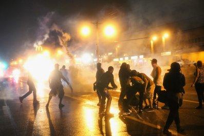 tear gas police ACLU