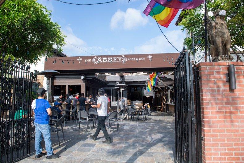 California bars reopening