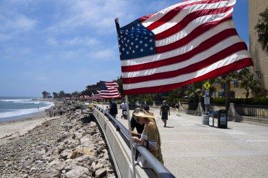 Beachfront, Ventura, California, May 2020