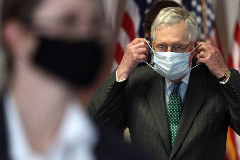 McConnell Tells Americans wear masks