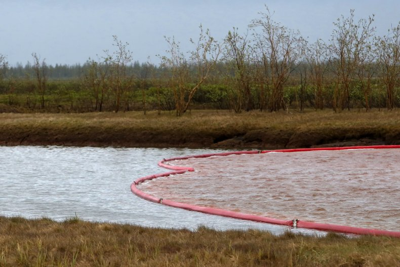 Arctic spill