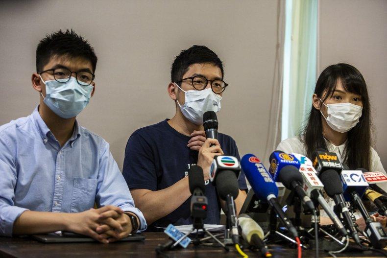 China, Hong Kong, Demosisto, national security law