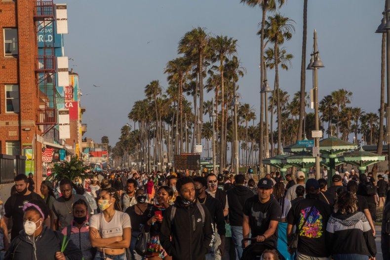 Venice Beach California May 2020