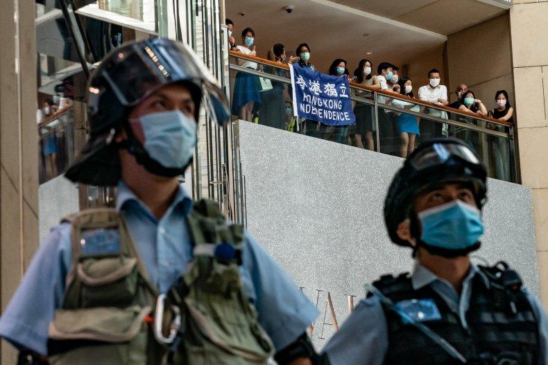 China, Hong Kong, US, national security, sanctions