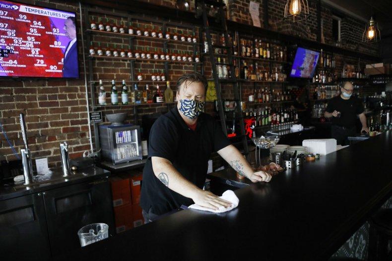 Tampa Florida restaurant bar June 2020
