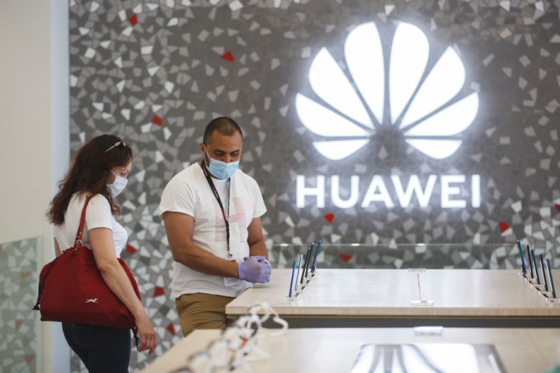 Huawei store reopens in Barcelona