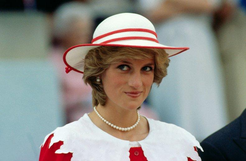 Princess Diana Visits Canada