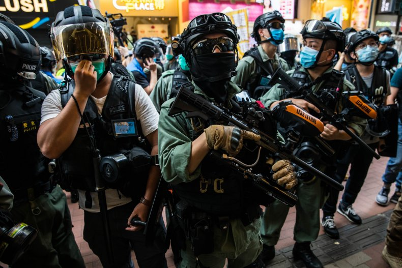 China, Hong Kong, arrest, law, national security