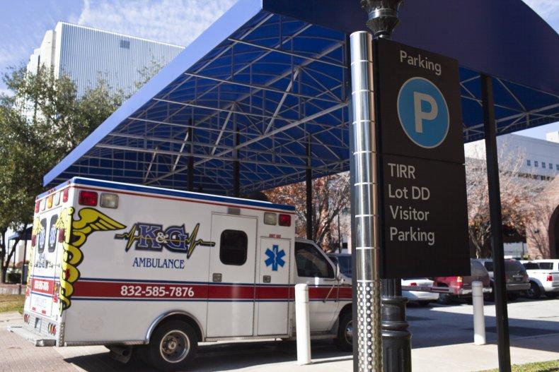 Houston Texas ambulance January 2011