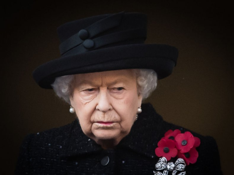 Queen Elizabeth II at the Cenotaph