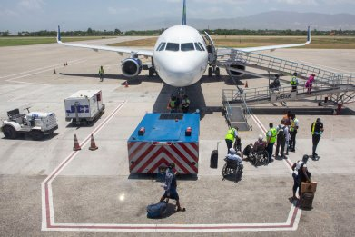 Flight in Haiti to repatriate U.S. citizens
