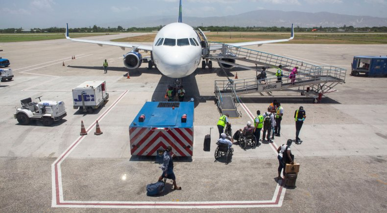 Flight in Haiti to repatriate U.S. citizens