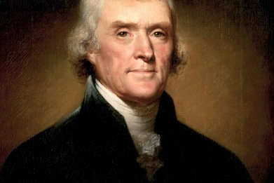Painting of Thomas Jefferson