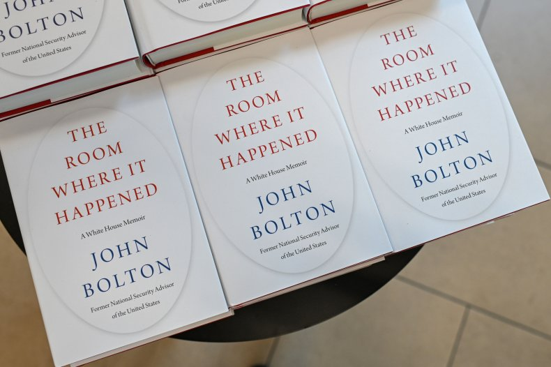 JOhn Bolton, book, sales, Donald Trump