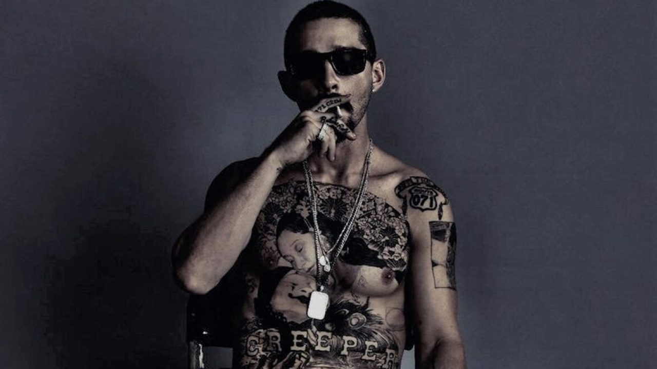 Shia LaBeouf tattooed his entire chest for his new movie