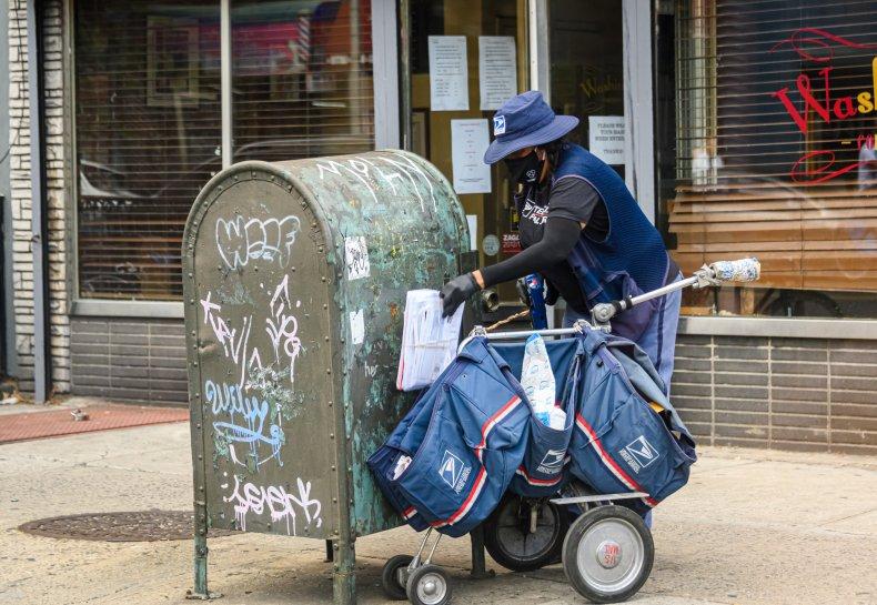 U.S. postal worker