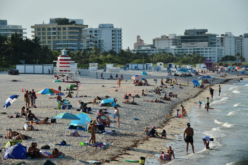 Miami Beach Florida June 2020