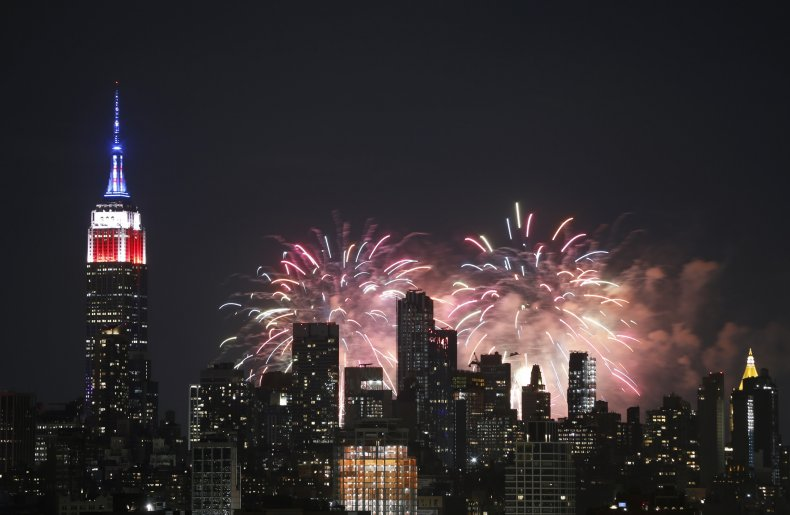 New York City July 4 Fireworks 2020